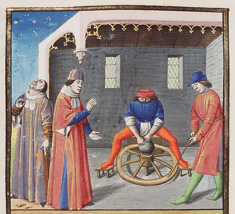image-7-Nigidius-and-his-argument-about-the-fate-of-twins-derived-from-the-potter's-wheel-The-City-of-God-1475-1480-MMW-10-A-11-fol.-232v.