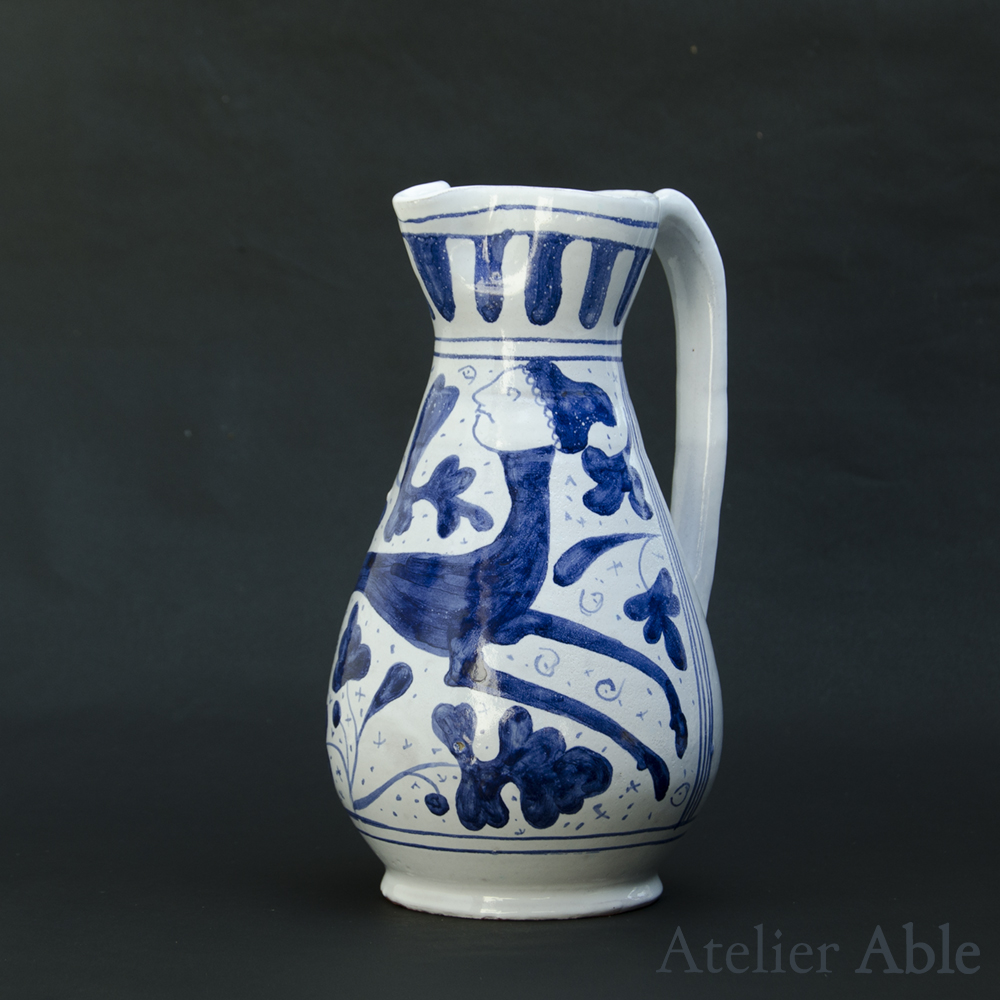 replica of a pitcher from Viterbo / second quarter of the fiteenth century