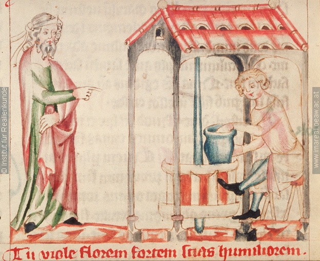 image 13 Jeremiah visits the house of the potters, Concordantiae caritatis SB Lilienfeld cod. 151 made in Austria, c. 1350, Stiftsbibliothek Lilienfeld