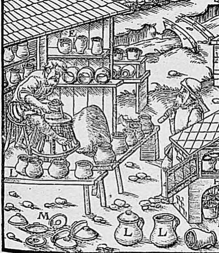 image 19 De Re metallica libri XII, Georgius Agricola, Libro Octavo, p. 217, 1561