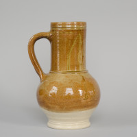 reconstruction of a stoneware jug from ca. 1600