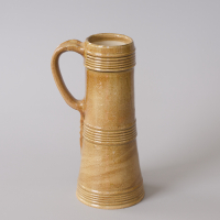 reconstruction of a tall tankard from ca. 1600