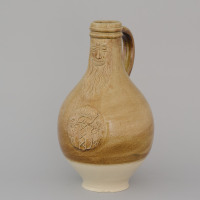 reconstruction of a Bartmann jug from around 1600