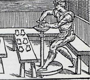 image 21 detail from De la pirotechnia by Vannaccio Biringucci, Venice, 1540,  Smithsonian Libraries
